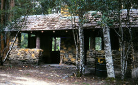 Picnic hut near National Park entrance