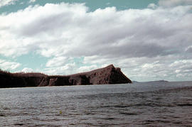 View of Cape Connella from sea level