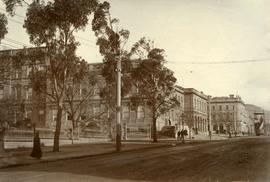 Public buildings near Franklin Square, Hobart