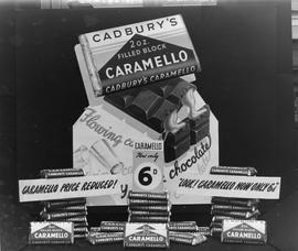 Cadbury Caramello Chocolate Display
