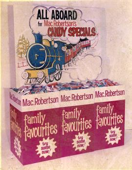Mac.Robertson's Advertising Display