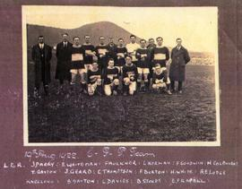 Cadbury Football Team, 1922