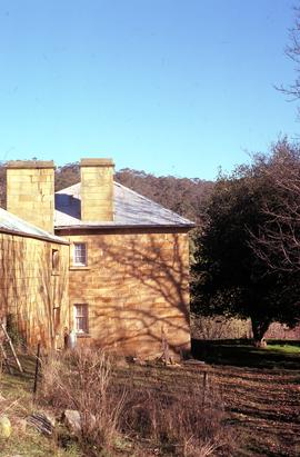 Side view of Sherwood homestead