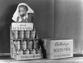 Display of Cadbury's Bourn-Vita