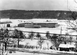 Cadbury factory in winter