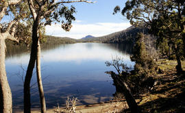 View across Lake Adelaide
