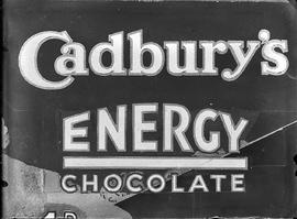 Advertisement for Cadbury's Energy Chocolate