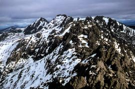 Aerial view of northern end of Denison Range