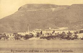 Photograph on visitor pass to the Cadbury factory, Claremont