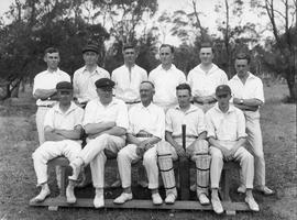 Cricket Team – Representatives Conference, Cadbury 1927