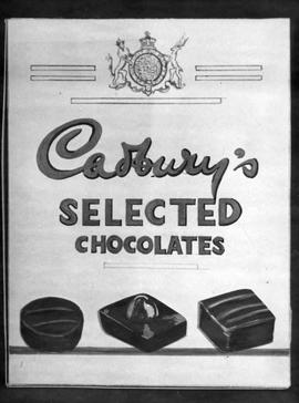 Draft of Cadbury's poster