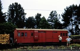 Railway carriage at Deloraine