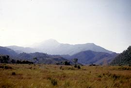 View of Mount Huxley near Crotty