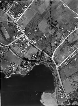 Aerial photograph of Claremont area.