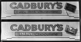 Advert for Cadbury chocolate