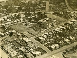 Aerial photograph of North Hobart