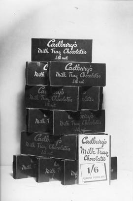 Cadbury's Milk Tray Display