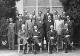 Directors 'A' Staff & State & Sales Managers. Claremont March 12th, 1951
