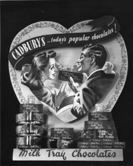 Milk Tray advertising poster