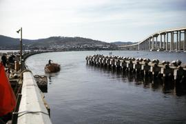 Hobart Bridge and Tasman Bridge