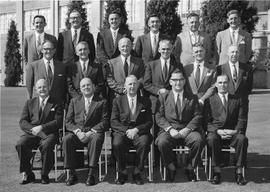 Area Sales Managers Conference Claremont,  March 1958.  S/A Department and Sales Managers.