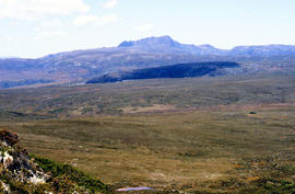 Looking south to Cradle Mountain