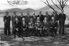 Sales Conference Attendees, Claremont March 15th 1954