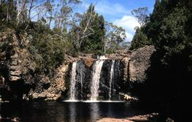 Knyvet Falls near Cradle Mountain