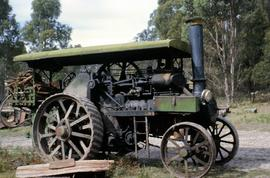 Aveling & Porter Traction Engine at Lilydale 1964