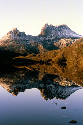Cradle Mountain from Dove Lake