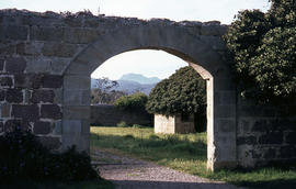 Stone archway at Avoca