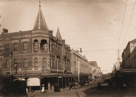 Miller's Corner at Liverpool and Murray streets, Hobart