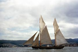 May Queen sailing on Derwent