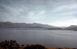 View of Derwent River from Doughty Point 1952
