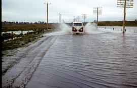 Flooded Midland Highway 1964