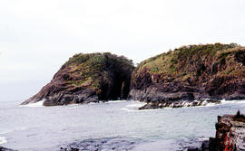 Arch island on Bruny