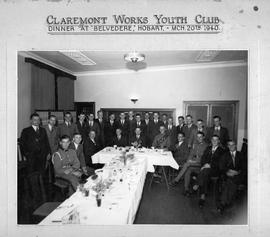 Claremont Works Youth Club Dinner