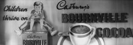 Cadbury Bournville cocoa advertising