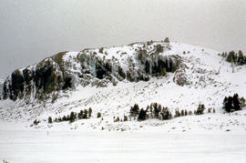 Snow on Mount Ophel