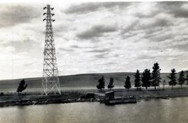 Electricity transmission tower