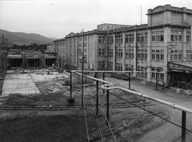 Block 7 of Factory under construction
