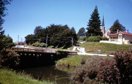 Bridge across Meander River at Deloraine