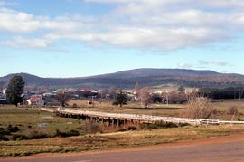 View of Clyde River Bridge, Bothwell, Tasmania