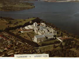 Aerial photograph of Cadbury Factory
