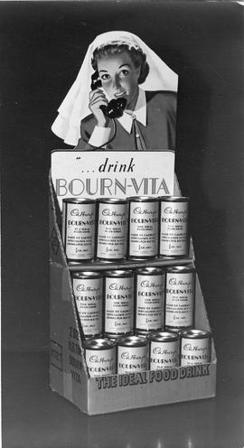 Bourn-Vita advertising material