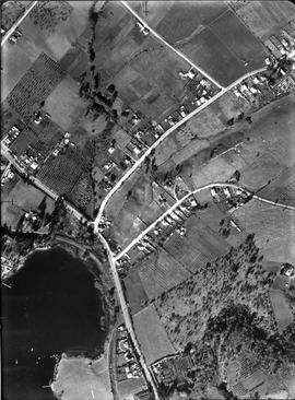 Aerial photograph of Cadbury area, Claremont.
