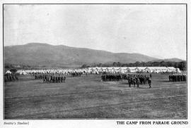 Claremont Military Camp from Parade Ground