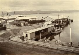 Franklin Pier, Brooke Street Pier and Watermen's Wharf, Hobart
