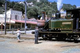 Mount Lyell No. 2 Abt locomotive at Queenstown