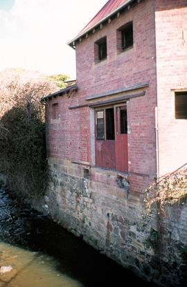 Collins Street mill on bank of Hobart Rivulet